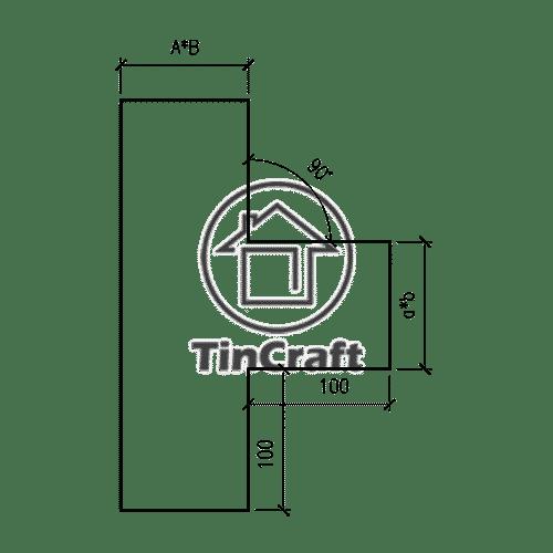 Размеры тройника