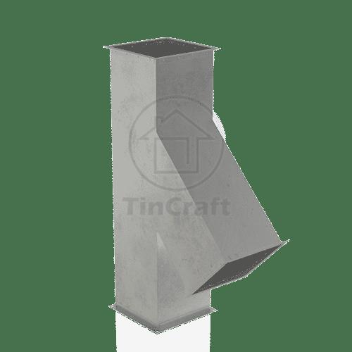 Прямоугольный тройник 45