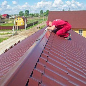 конек для крыши