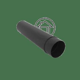 Черная труба для дымохода