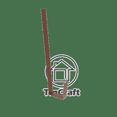 Прямоугольный крючок желоба
